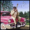 Bo Diddley and a Chevy